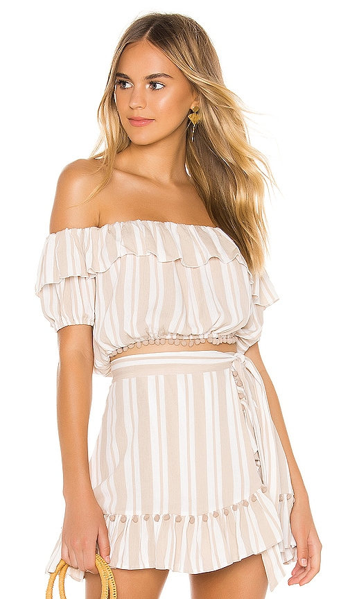 Lovers + Friends x REVOLVE Alicia Top in Beige