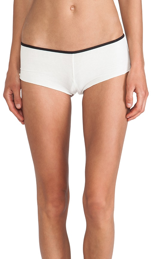 Boyfriend Rib Pocket Short