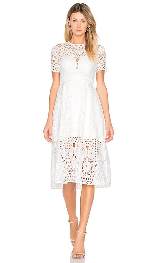 Harmony Pleat Midi Dress