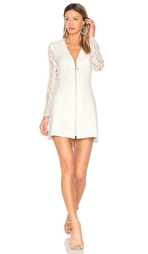 Lover Violet Mini Dress in Ivory