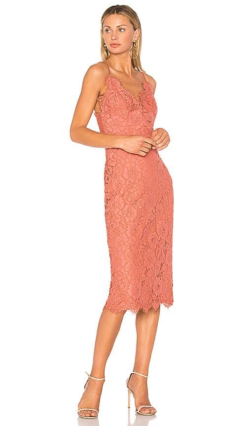 Lover Ingenue Slip Dress in Pink