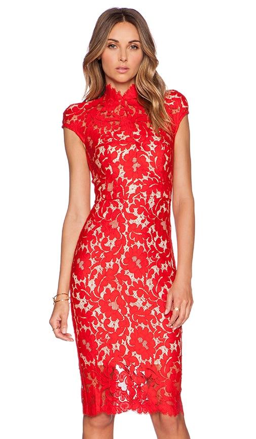 Warrior Lace Midi Dress