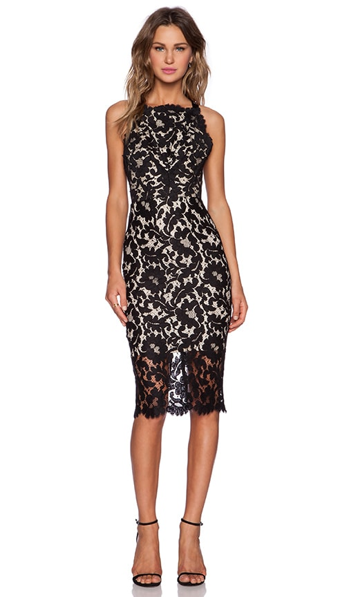 Warrior Lace Halter Dress
