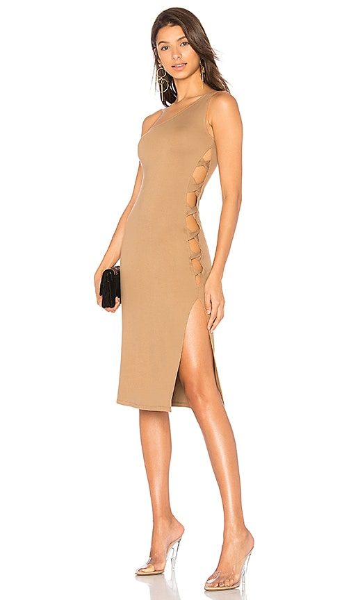 LPA x REVOLVE Dress 571 in Brown