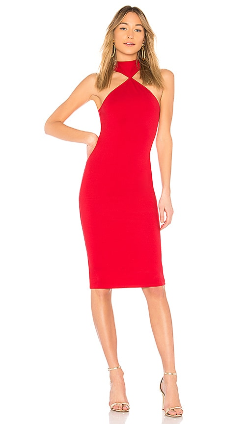LPA Dress 232 in Red