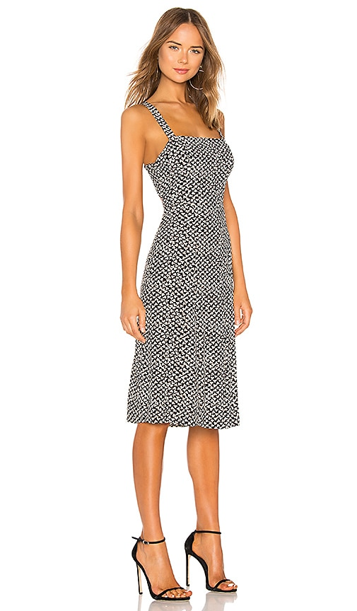 Square Neck Midi Dress by Lpa