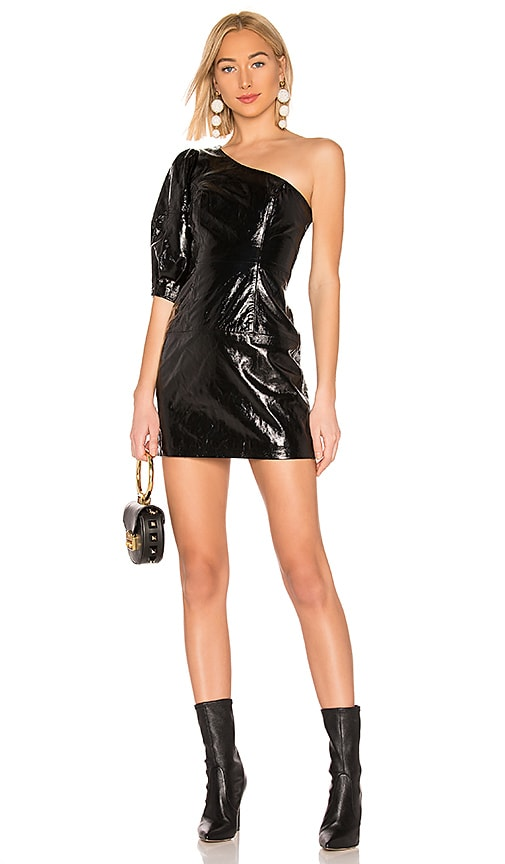 Sheyla Leather Mini Dress