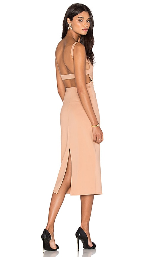LPA Dress 27 in Beige