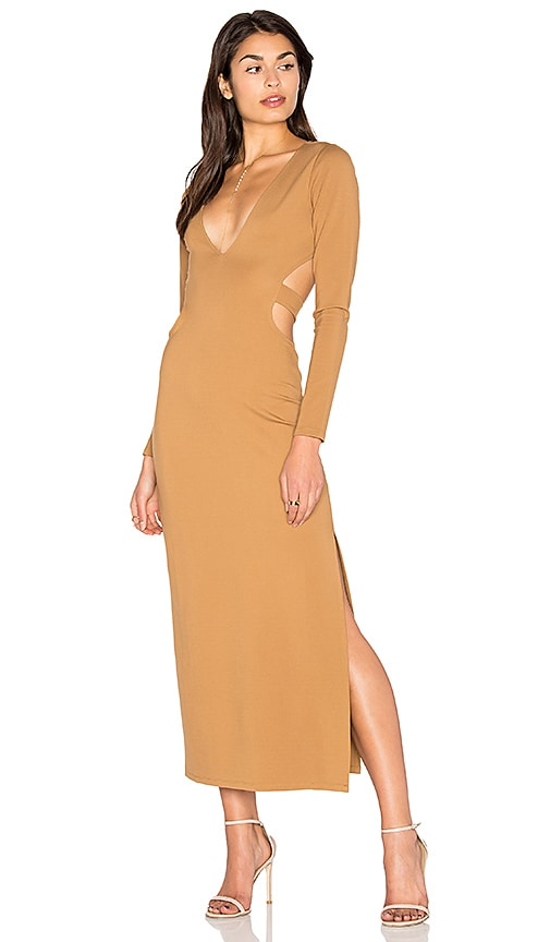 LPA Dress 80 in Tan