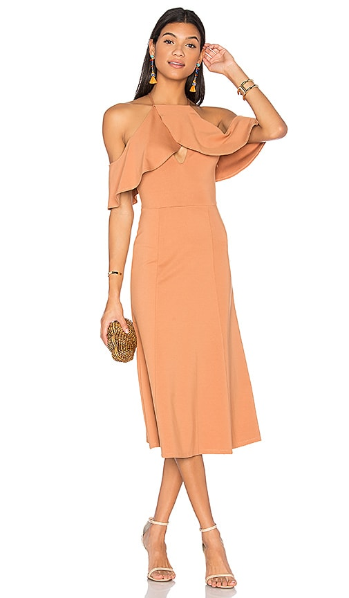 LPA Dress 161 in Beige