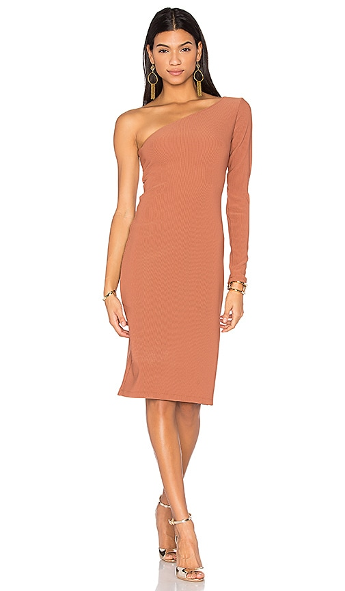 LPA Dress 129 in Tan