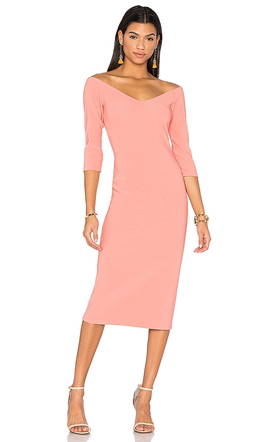 LPA Dress 130 in Rose