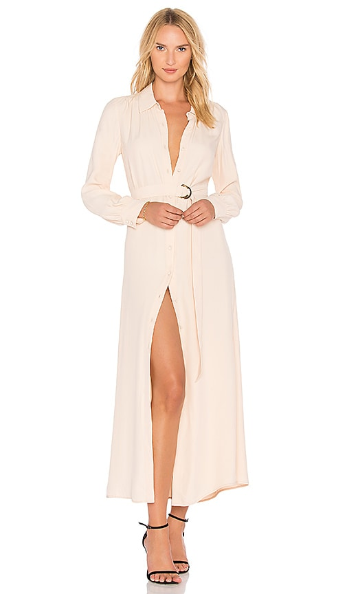 LPA x REVOLVE Duster Coat 557 in Peach