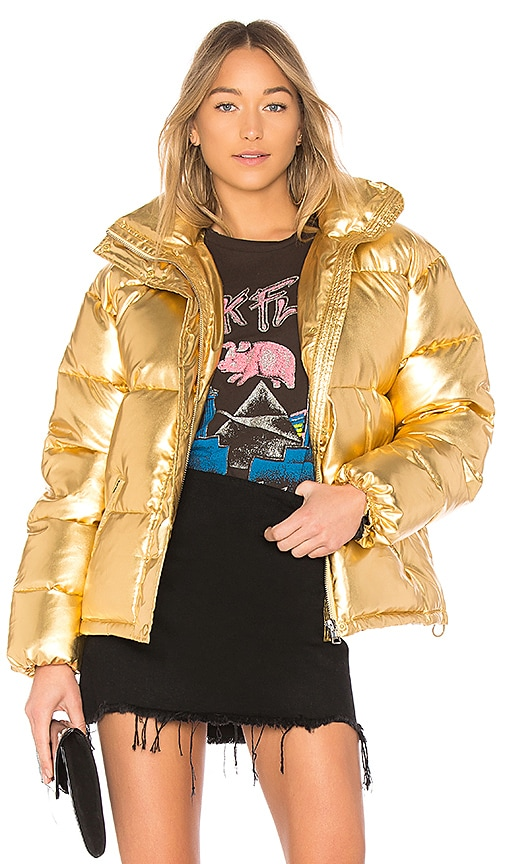 LPA Jacket 601 in Metallic Gold