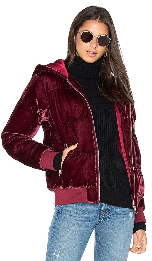 LPA 208 Jacket in Burgundy