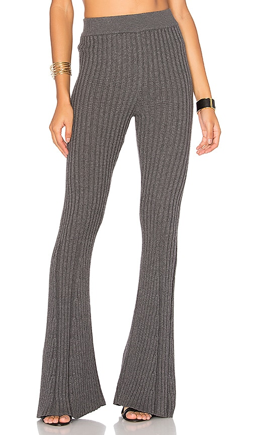 LPA x REVOLVE Pants 224 in Charcoal