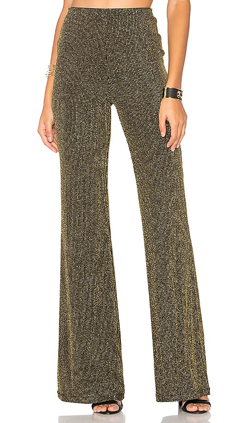 LPA Pants 93 in Metallic Gold