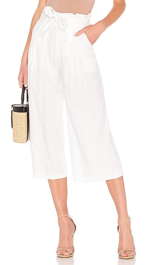 Wide Leg Paperbag Pant