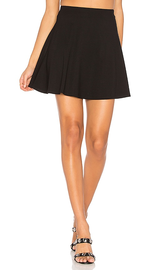 LPA Skirt 204 in Black