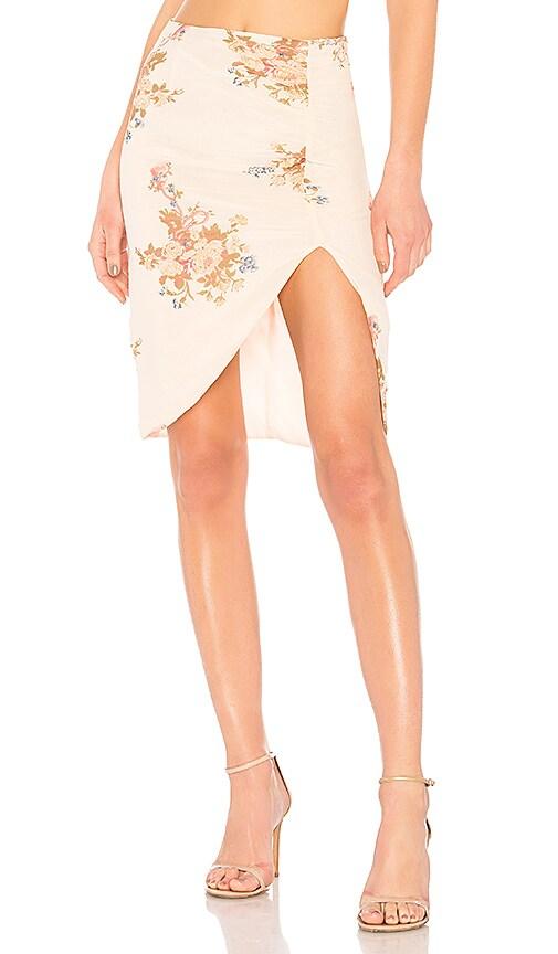 LPA Skirt 693 in Cream