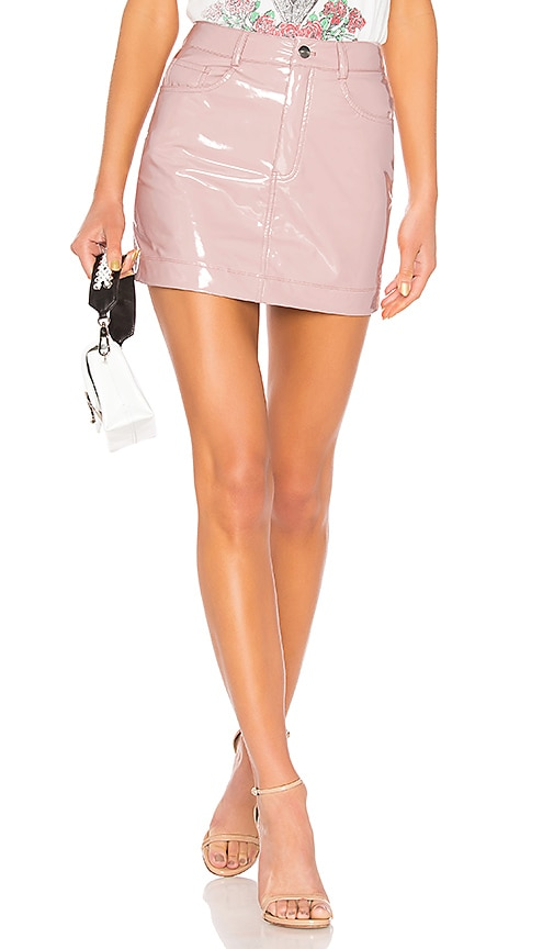 LPA Skirt 416 in Mauve