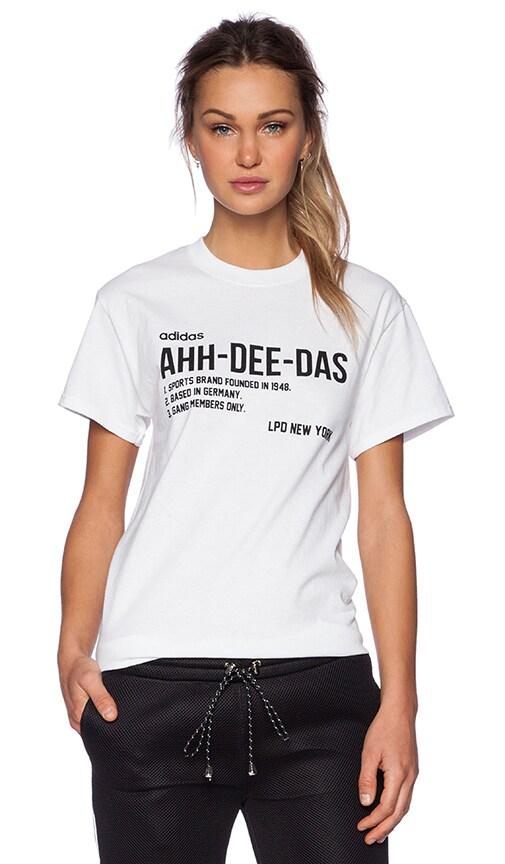 x Adidas Ahh-Dee-Das Tee