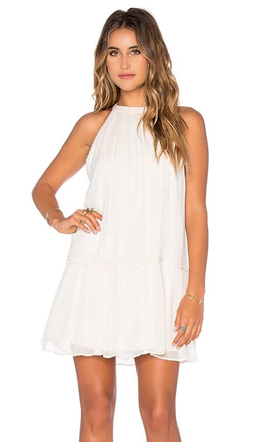Love Sam Greta Dress in Ivory