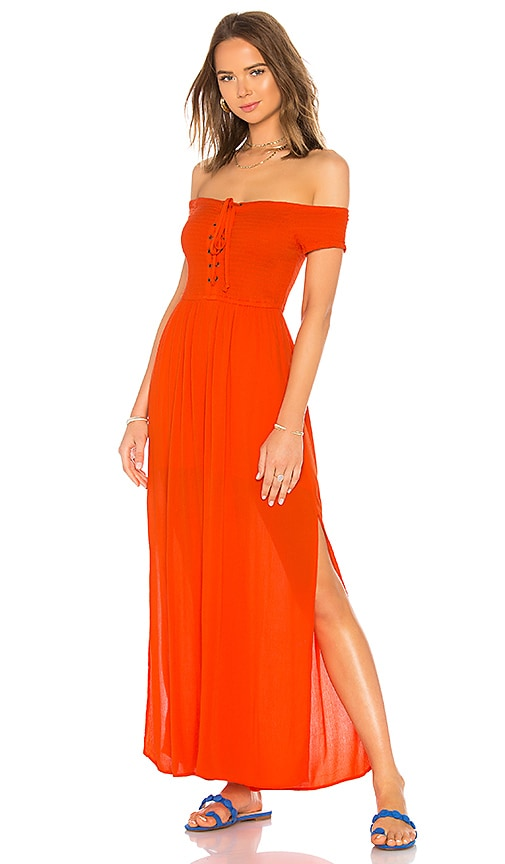 L*SPACE Sao Paulo Jumpsuit in Red