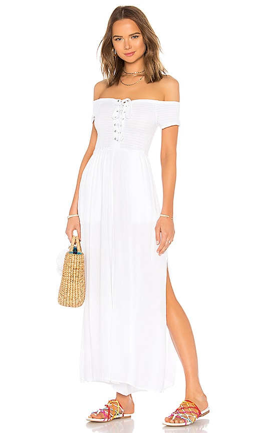 L*SPACE Sao Paulo Jumpsuit in White