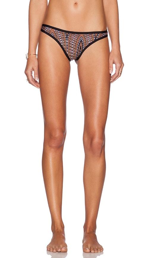 L*SPACE Cosmopolitan Bikini Bottom in Black