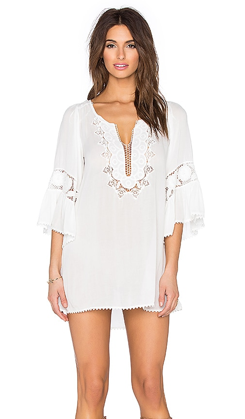 L*SPACE Breakaway Mini Dress in Ivory