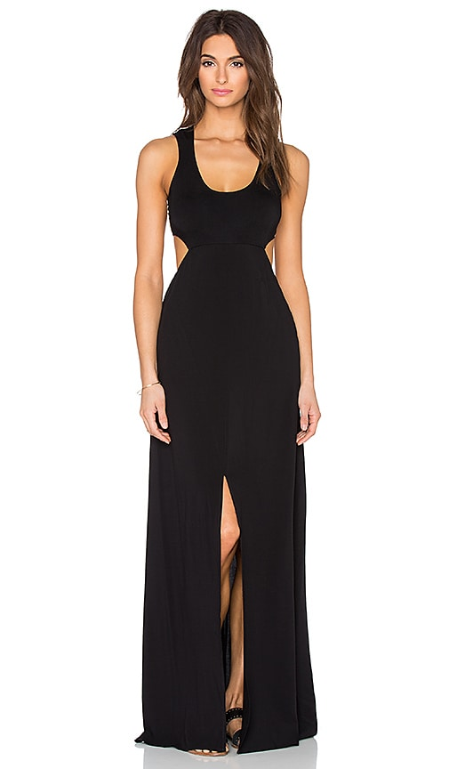 L*SPACE Daybreak Maxi Dress in Black