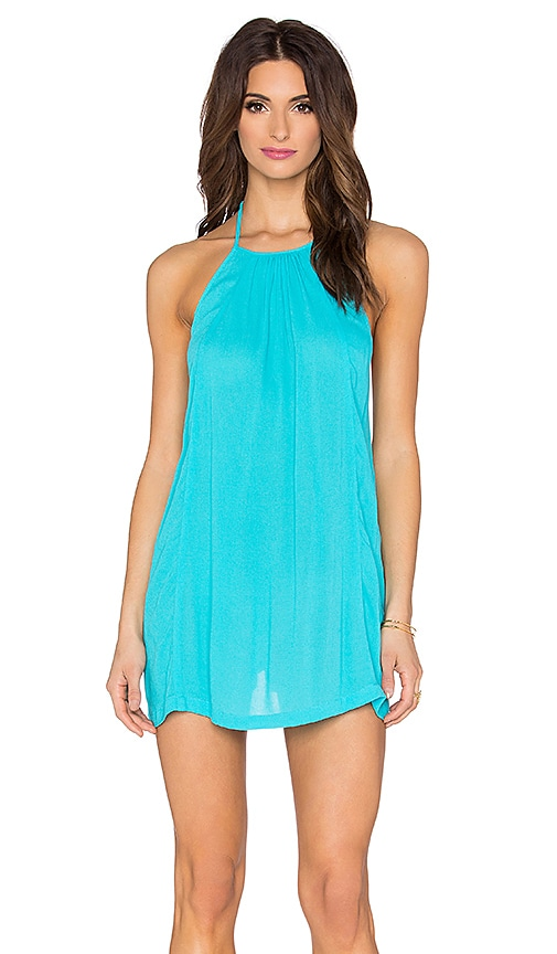 L*SPACE Solarium Tunic in Turquoise