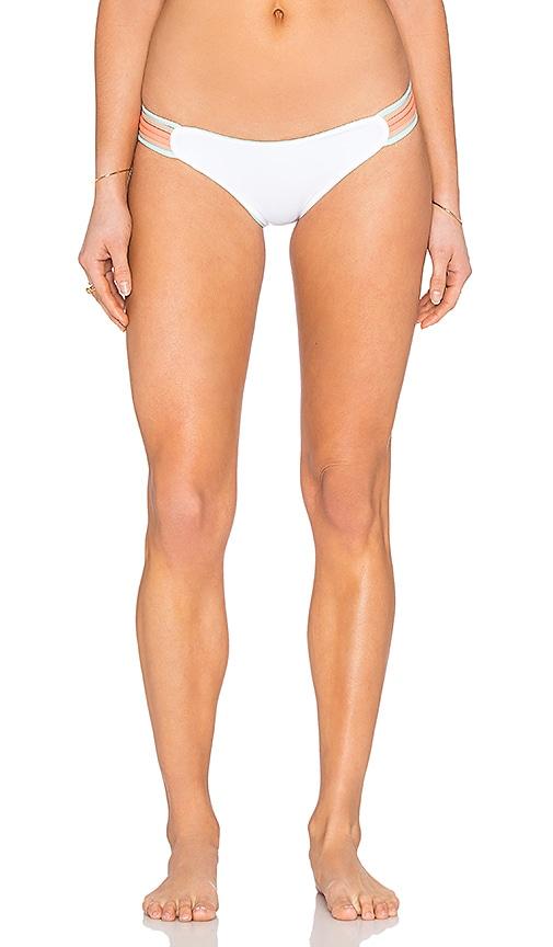 L*SPACE Oasis Reversible Bikini Bottom in Mint