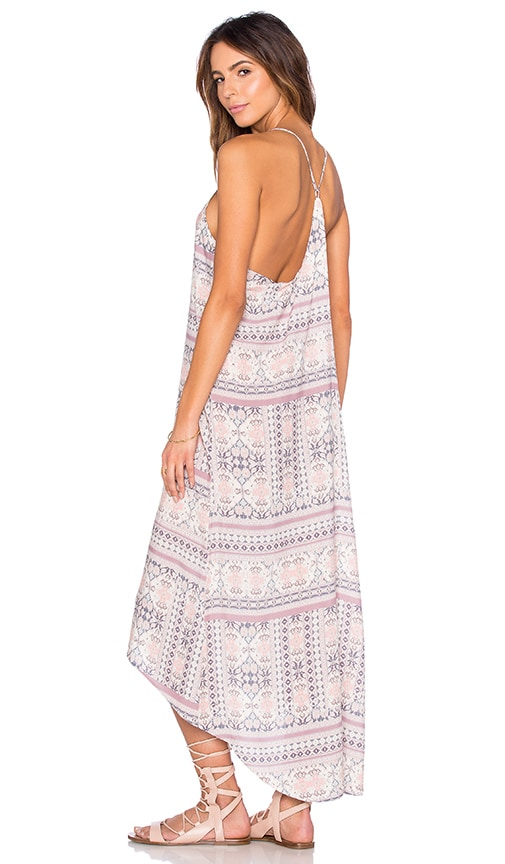 L*SPACE Rimini Maxi Dress in Mauve