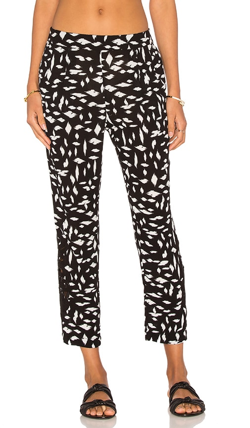 L*SPACE Keep It Wild Trouser in Black & White