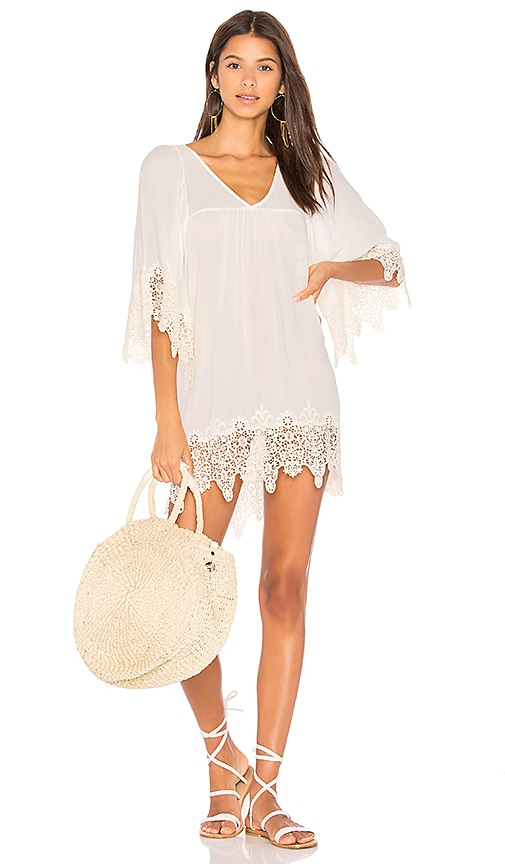 L*SPACE Native Springs Tunic in White