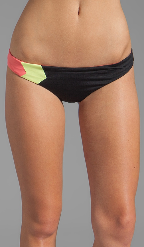 Color Blocked Geo Hipster Bottom