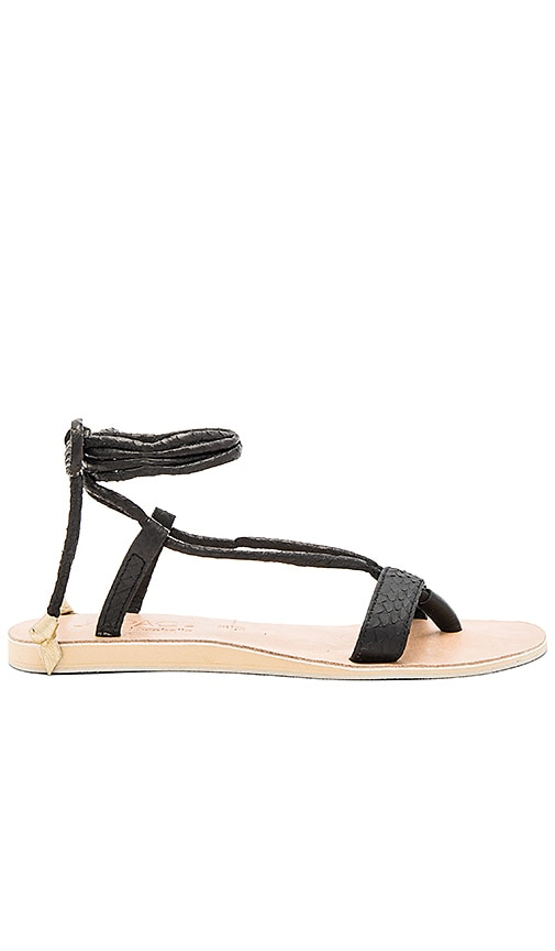 L*SPACE by Cocobelle Rio Sandals in Black