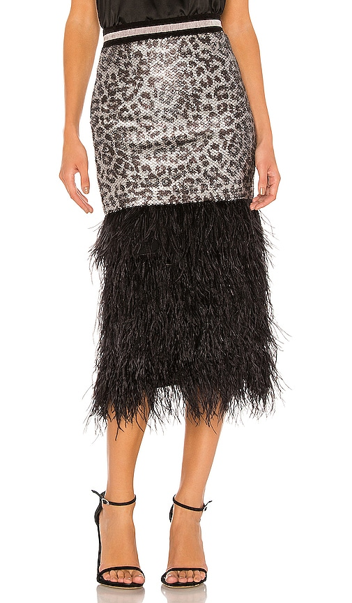 Marmont Sequin Skirt