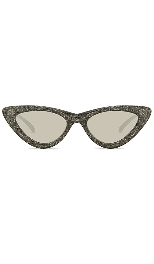 X Adam Selman The Last Lolita Limited Black Glitter by Le Specs