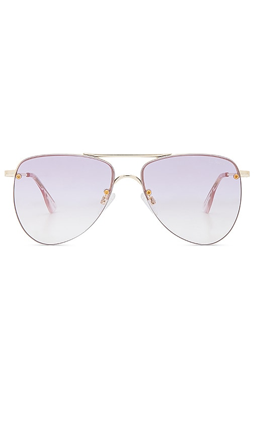 144e5aa02a7 Le Specs The Prince in Gold   Lilac Gradient