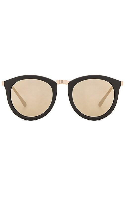 Le Specs No Smirking Sunglasses in Black