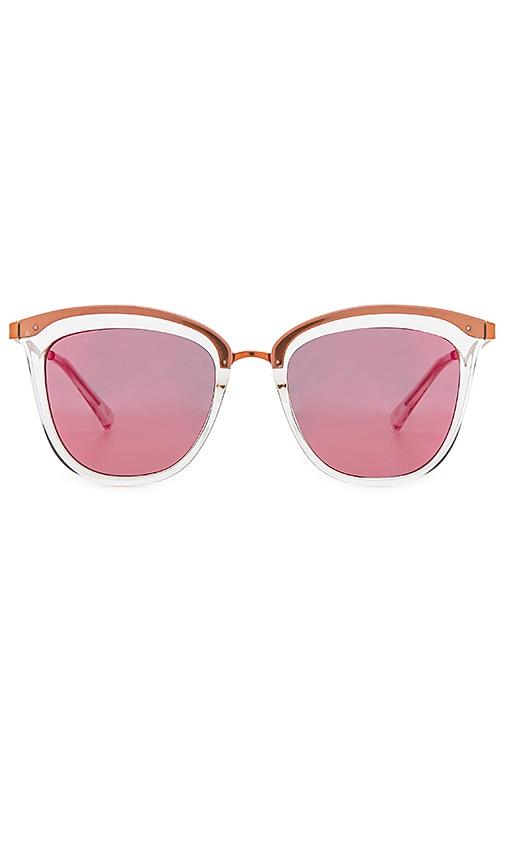 Le Specs Caliente Sunglasses in Metallic Copper