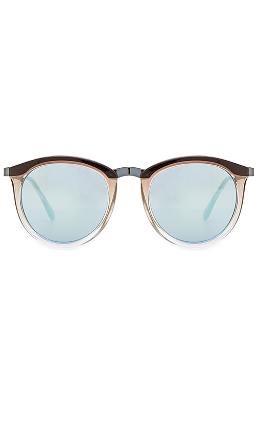 Le Specs No Smirking Sunglasses in Charcoal