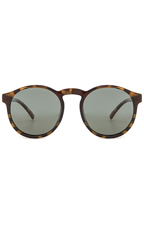 Le Specs Cubanos Sunglasses in Brown