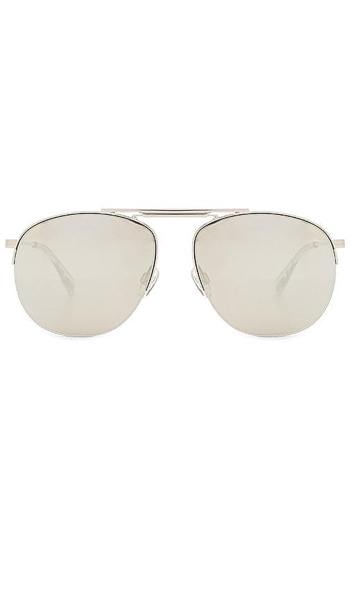 Le Specs Liberation Sunglasses in Metallic Silver