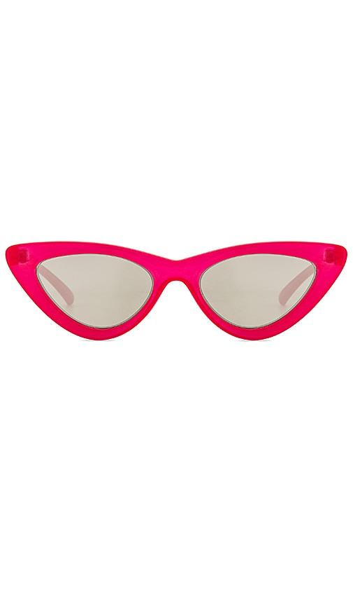 a501d7ffebb Le Specs x Adam Selman The Last Lolita in Opaque Red   Silver Mirror ...