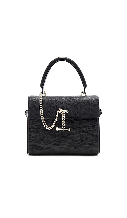 Luana Italy Paley Mini Satchel Bag in Black