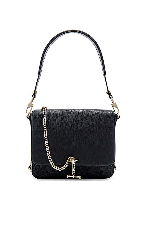Luana Italy Paley Shoulder Bag in Charcoal